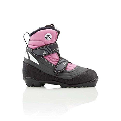Fischer Langlaufschuhe Kinder Snowstar Pink MP18.5 EU29 Mädchen Langlaufstiefel Mädchen NNN