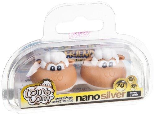 Crazy Qualitäts Kontaktlinsen Behälter - vers. lustige Tiere als Linsenbehälter mit Schraubverschluß (Tier Kontaktlinsen)