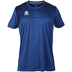 Luanvi Apolo Camiseta, Hombre, Azul Marino, L