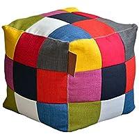 YJchairs Faules Sofa - Quadratischer Hocker Ergonomie Mehrzweck Knochenlose Bank Farbe Zauberwürfel Sitz preisvergleich bei kinderzimmerdekopreise.eu