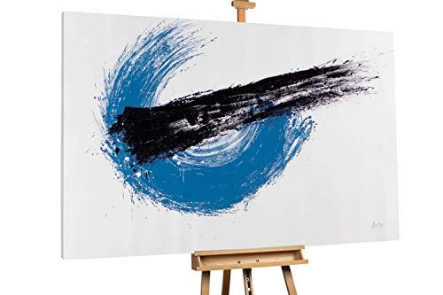 Kunstloft® Extraordinario Cuadro óleo 'Black Comet'