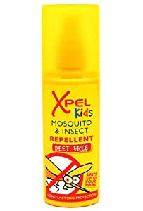 Xpel Kids Mosquito & Innsect Replent 70ml (DEET FREE) Pump Spray
