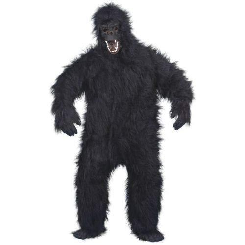 Gorilla Haarige Kostüm - Smiffys Gorilla Kostüm -