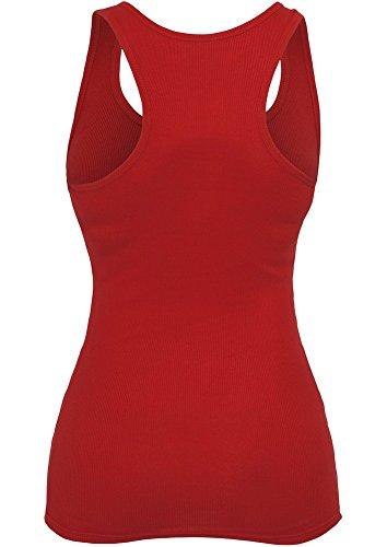 Urban Classics - T-Shirt De Sport Femme rouge