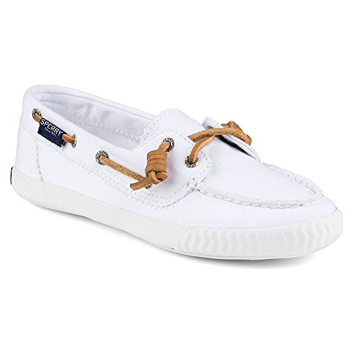 Sperry Top-Sider Sayel Away Washed, Baskets Basses Femme blanc