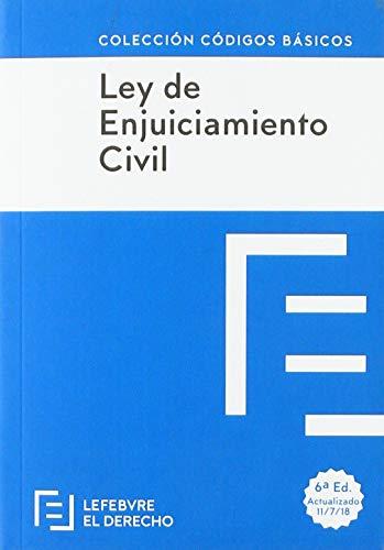 LEY DE ENJUICIAMIENTO CIVIL: Código Básico (Códigos Básicos)