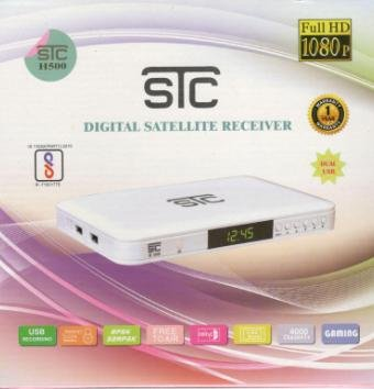 STC Wifi Digital Satellite Receiver - H-500 Mpeg-4 -Hd- Set Top Box - Include Wifi Dongle(Receiver)