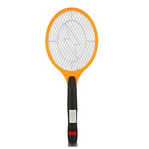 Elektrische Fliegenklatsche mit AKKU Wiederaufladbar, Mückenklatsche Insekten Schläger Fliegenklatschen, Mücken Schläger JLA210