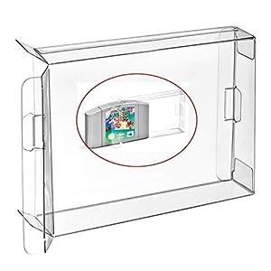 WiCareYo 10PCS Schutzhülle Hülle Plastikkasten für N64 Patronen Schutz Archiv Fall Hülsen