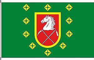 Bannerflagge Amt Lütau - 150 x 400cm - Flagge und Banner
