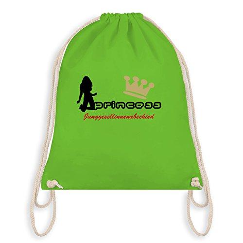 JGA Junggesellinnenabschied - Princess - Junggesellinnenabschied - Turnbeutel I Gym Bag Hellgrün