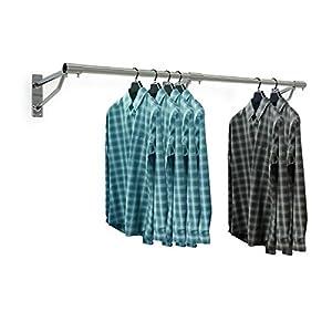 Kleiderstange Wandmontage kleiderstange holz wandmontage deine wohnideen de