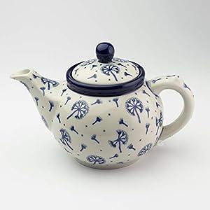 Polish Pottery Small Teapot Dandelion