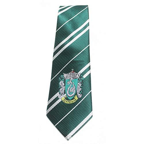 Harry Potter Gryffindor Krawatte, Schuluniform Krawatten Zaubererschule Nadelstreifen Kostüm Krawatte