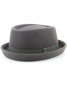 Sombrero de fieltro de lana 100 %, unisex