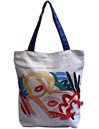 Tote Bag | Tote Bags For College Girls Stylish | Shopping Bag | Digital And Screen Printing - B07B49G26Y