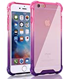 Egotude Shock Proof Anti Scratch Hard Back Cover Case for Apple iPhone 6
