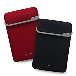 Capdase Prokeeper Slipin PK00M130-S091 for Macbook Pro 13-inch (Red/Black)