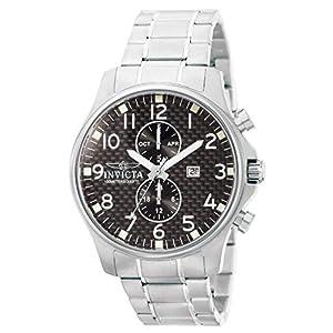 Invicta 0379 Specialty Reloj para Hombre acero inoxidable Cuarzo Esfera
