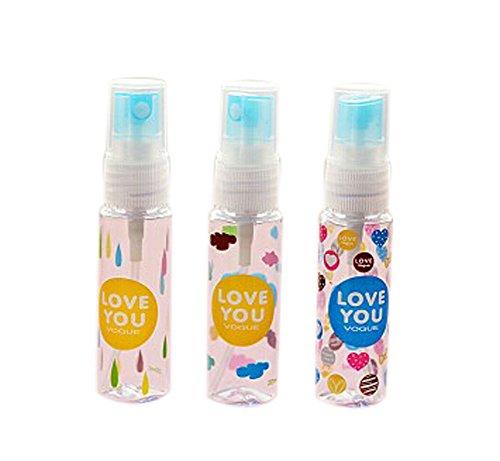 3 pièce flacon de parfum vide pour voyager/30 ml, couleur aléatoire