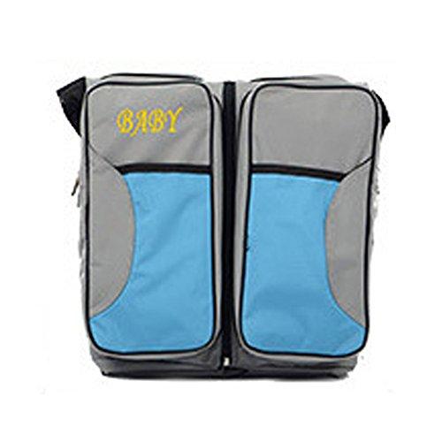 Preisvergleich Produktbild Wickeltasche Pflegetasche Kinderwagen Muttertasche Babytasche Multifunktionale große Kapazität Tasche Mama Paket tragbare Falten Krippe