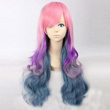 Cheveux multicolor