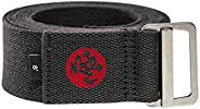 Manduka Align Yoga Strap – Strong, Durable Cotton Webbing with Adjustable Buckle for Secure, Slip-Free Support