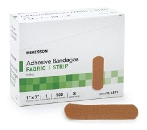 Bandage Adherent Strip 1X3 Lf 100Ea/Bx 24Bx/Cs by Medi-pak Performance (Performance Pak)