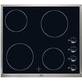 Ariete 1918 acero inoxidable apertura 180 grados placas extra/íbles placa 29 x23 cm 2000 W asa tacto fr/ío Grill el/éctrico Grill/&Taste placa flotante 5 niveles temperatura