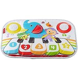 Fisher-Price Mon Piano de Lit pour lit bébé à barreaux, sons, mélodies et lumières, 3 niveaux de jeu, dès la naissance, GFJ49