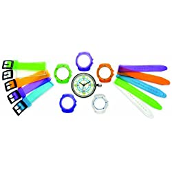Don Simmons Jazz 5 in 1 DSJ014 Childrens Strap Watch - Multicoloured Interchangeable Straps