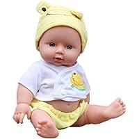 DOGZI Reborn Bebé Recién Nacido Bebé Muñecas Vinly Muñeca Renacida para Niña Juguetes Reborn Baby Dolls,Adecuado para Edades 3+,Viernes Negro Juguetes para niños