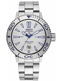 3a0d01528ede Watx scafandro Reloj para Mujer Analógico de Cuarzo con Brazalete de Acero  Inoxidable RWA0331