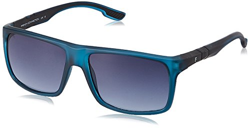 FCUK Gradient Wayfarer Men\'s Sunglasses - (FC 7313 C2 S|58|Grey Color)
