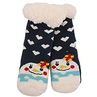 Atino Kids Festive Christmas Knitted Slipper Socks 6-9