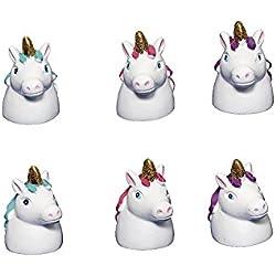 Lote de 20 Bálsamos Labial Unicornio - Ideal Para Regalos y Detalles de Bodas y Eventos - Bálsamo, Bálsamos labiales labios, Brillos para Detalles de Bodas Baratos