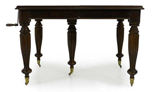 mousasgallery Table à Manger en Bois Massif – Style Baroque   Lauscha   Louis XV/XVI   fabriqué à la Main  