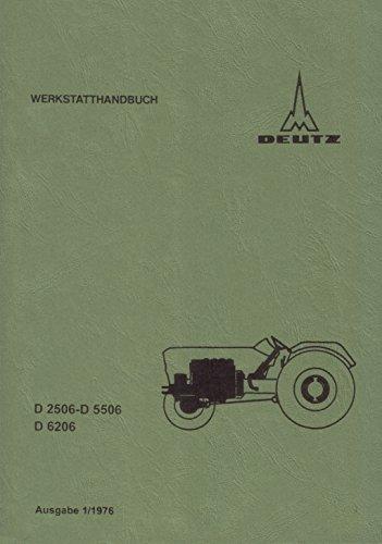Preisvergleich Produktbild Werkstatthandbuch Deutz Schlepper für Fahrgestell 06