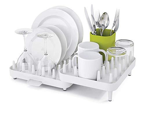 Kriya Plastic Kitchen Utensils Storage Rack with Plate   Cutlery Stand