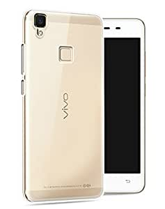 Heartly Vivo V3 Max Back Cover Transparent Clear Crystal Hot Thin Hard Case - Crystal View