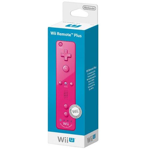 Nintendo Wii / Wii U - Mando Plus, Rosa