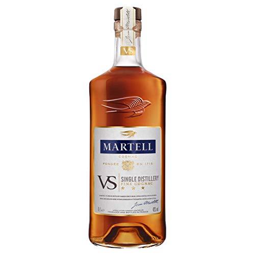 gnac 1715, Einzigartiger Cognac mit würzigem Geschmack, Ideal als Geschenk oder für besondere Anlässe geeignet, 1 x 0,7 L ()