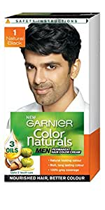 Garnier Color Naturals Men, Natural Black, 30ml+30gm