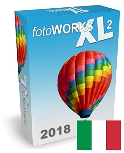 Fotoworks XL (2018) - Programma fotoritocco, software fotografia digitale, programma modifica foto Italiano. Il software fotoritocco più semplice da usare - programmi per foto - programmi fotografici