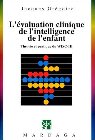 Evaluation clinique de l'intelligence de l'enfant, numéro 229