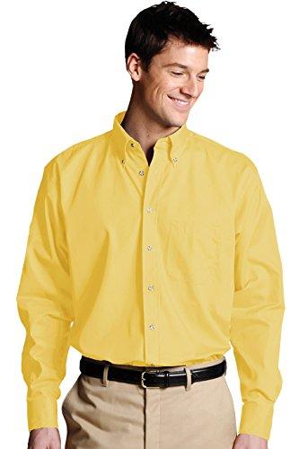 Gildan Ultra Cotton L/Sleeve Tee, Maglietta Uomo Gris - Cendre