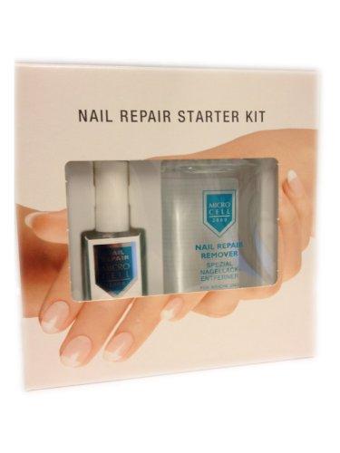 Microcell Nail Repair Set (Nail Repair, 12 ml & Nail Repair Remover, 100 ml), 1er Pack (1 x 1 Stück)