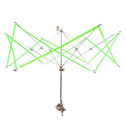 Sharplace Wollwickler Schirmhaspel 33cm Grün