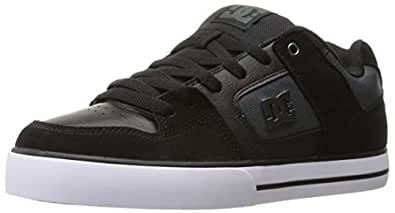 DC - Se pures Lowtop Chaussures, EUR: 38, Black/Dk Grey