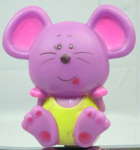 Monz TOP Hupe Kinder-Tierfigurhupe, Farbe:Maus